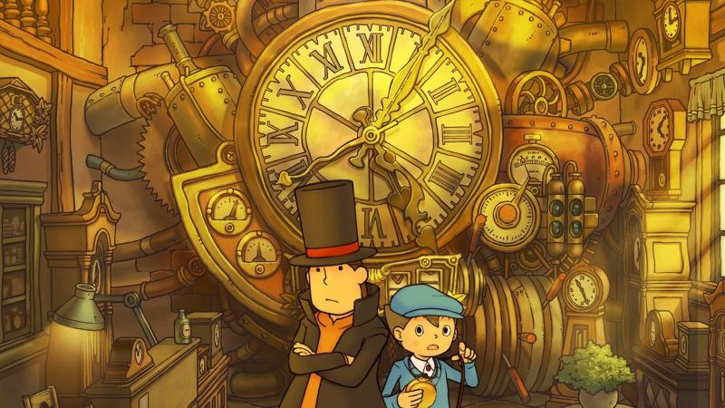 Дебютный трейлер Professor Layton and the Lost Future HD for Mobile