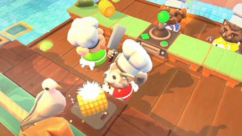 На PC вышло дополнение Sun's Out Buns Out для Overcooked 2