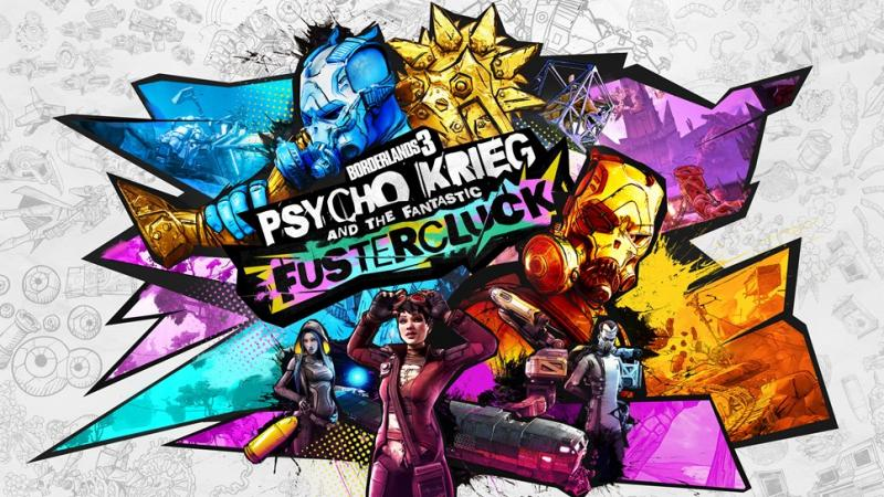 Оценки дополнения Psycho Krieg and the Fantastic Fustercluck для Borderlands 3