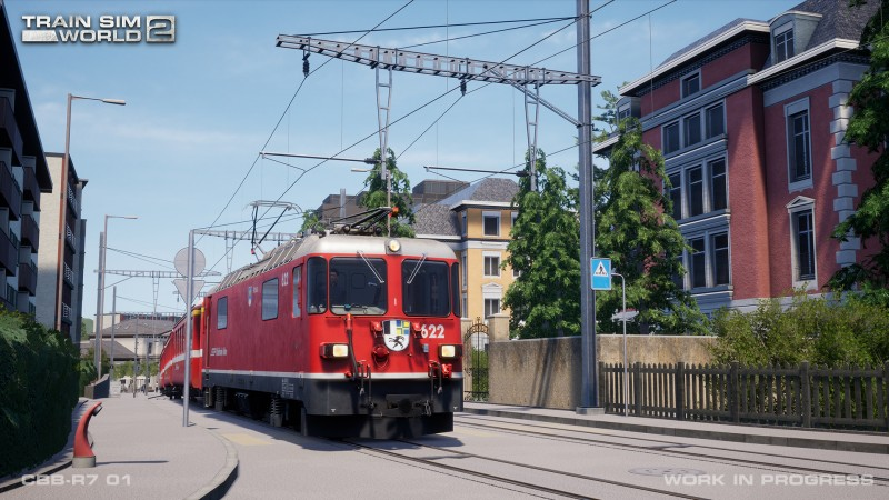 Arosa Linie (Line), Clinchfield Railroad, Class 465 скоро выйдут для Train Sim World 2!